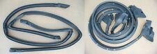 WEATHERSTRIP SEAL 4PC ELCAMINO GMC EL CAMINO 78-87 RUBBER SEAL KIT G-BODY