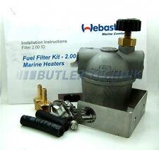 Webasto Marine heater Fuel Filter with fuel tap shut off | 4110766A