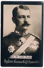 Vintage Ogden's Guinea Gold Cigarettes Gen. Sir Leslie Rundle Tobacco Card