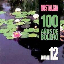 Various Artists : 100 Anos De Bolero, Vol. 12 CD