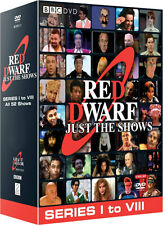 Red Dwarf. complete Series 1-8 just the shows. temporada 1 2 3 4 5 6 7 8... 10 DVD