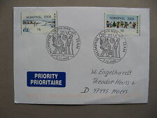 AUSTRIA, cover to Germany, NUMIPHIL 2008, ATM vendingmachinestamps