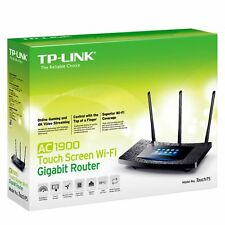 New TP-Link Touch P5 Dual-Band Wireless-AC1900 Touch Screen Gigabit Router