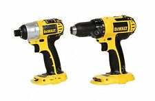"Dewalt 18V 1/4"" Hex DC825 Cordless Impact Driver and 1/2"" DC720 Drill Driver New"