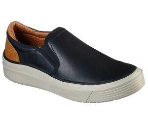 Men's SKECHERS Viewport Kalister Loafer Shoes, 210135 /BLK Multiple Sizes Black