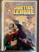 Justice League Unlimited 1 Variant High Grade DC Comic Book C36-135