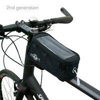 BTR Waterproof Bike Frame Bag Pannier Bicycle Mobile Phone Holder