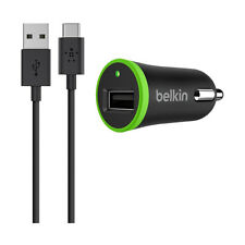 Belkin USB-C to USB-A Vehicle Charger 2.1A 10W 6ft Cable