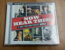 The Word - Now Hear This! - December 2006 - 15 track compilation CD - VGC