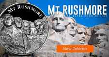 American Landmark Series Mt Rushmore Ultra High Relief 2 oz .999 Silver US Round