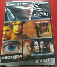 American Psycho/Way Of The Gun/Requiem For A Dream (Dvd) Sealed! Free Shipping!