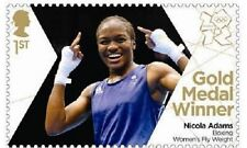 UK Team GB Gold Medal Winner Single Stamp - Nicola Adams MNH 2012