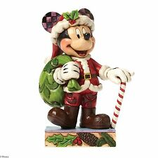 Disney Traditions Holiday Cheer for All Mickey Mouse Christmas Figurine