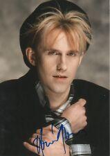 HOWARD JONES autographe signed 20x30 cm image