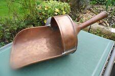 New listing Victorian Scoop Huge copper flour kitchen antique kitchenalia