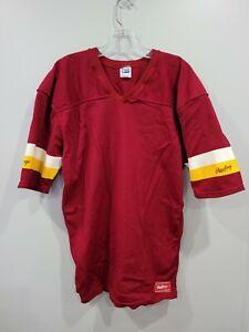 Rare Vintage 80s Rawlings NFL Washington Redskins Blank Mesh Jersey Mens L