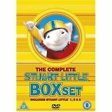 Stuart Little - Complete All 3 Movies Film Trilogy Collection 3 Discs New UK DVD