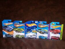 HOT WHEELS - 5 CAR LOT- ALL CHEVY CORVETTE VARIATIONS - GREAT LOT - ALL NEW
