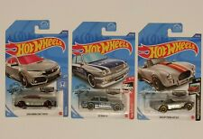 2020 Hot Wheels Zamac N Case Set Type R Civic, Bmw M3, And Shelby Cobra