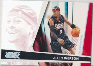 2005/06 topps luxury box season ticket allen iverson  # 33