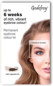 Godefroy Medium Brown Instant Eyebrow Tint