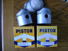 HARLEY SPORTSTER +.040 PISTONS PISTON SET & RINGS, 1000cc, FITS 1972-1985