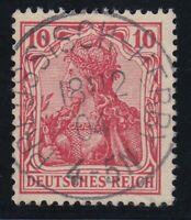 31366) PREUSSISCH-HERBY Oberschlesien LUXUS Stempel 1904 auf Mi.-Nr. 71