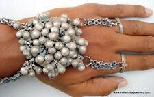 Antique Old Silver Dorsal Hand Ornament Bracelet Gothic