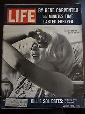 Life Magazine Rene Carpenter Watches Scott Go Up Mercury June 1962