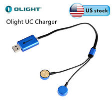 Olight UC Universal Magnetic USB Charger For 18650/RCR123A  Rechargeable Battery