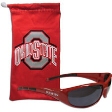d09a04a3dfc NCAA 2CSG38 Ohio State UV Protection Blade Style Wrap Sunglasses