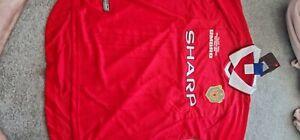 Manchester united champions league Shirt 1999/ Solskjaer 20 BNWT