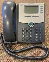 *Brand New* Cisco SPA514G 4 Line GigE IP Phone 2 Port Switch PoE 1YrWty TaxInv