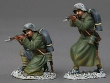 THOMAS GUNN WW1 GERMAN GW028C KNEELING & STANDING FIRING RIFLES WINTER MIB