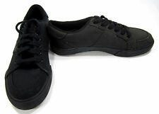 Polo Ralph Lauren Shoes Harold Canvas Black Sneakers Size 8