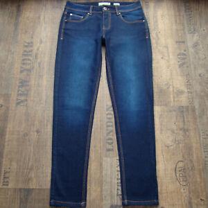 BENCH Skinny W28 L30 wie neu Damenjeans blau slim Stretch Denim Jeans 28/30