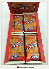 2005 Select AFL Tradition Trading Cards Sealed Loose Packs Unit of 4--packs