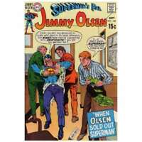 Superman's Pal Jimmy Olsen (1954 series) #132 in F minus cond. DC comics [*yp]