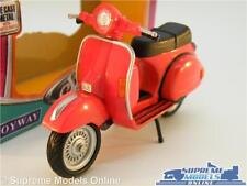 VESPA MODEL SCOOTER BIKE MOPED 1:18 SIZE RED PX125 T5 125 CLASSIC K8
