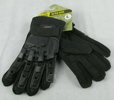 Valken V-tec Full Finger Black Hard Back Paintball/Airsoft Gloves Size Large