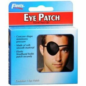 Flent's Concave Eye Patch Soft Smooth Material One Size Fits All, 1 ct, 1 Pack