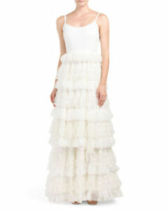 NWT Alice and Olivia swift bridal gown size 4 COMPARE AT 1998.00