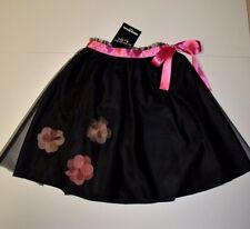 BNWT Beautiful Designer SONIA RYKIEL Black Skirt  Size 12Y   FRANCE