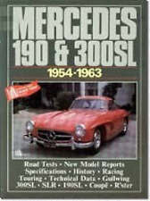 Book - Mercedes 190 & 300SL 1954-1963 - Coupe Gullwing - New copy - Brooklands