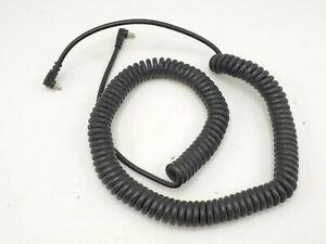 """Vintage PC Sync Extension Flash Coiled Cord Cable - Approx. 37"""" Long"""
