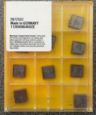 Placas de inflexión 10 x Kennametal e-80015-10 r0.4 ttm08/u32102807 Carbide Inserts