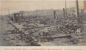 H90/ San Francisco California Postcard RPPC c1906 Earthquake Disaster 39