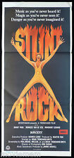 STUNT ROCK Original Daybill Movie Poster aka SORCERY Grant Page