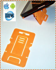 Carte Pliable Support pour GSM Smart Phone MP3 Card Stand ORANGE