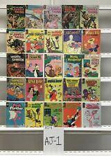 Vintage Gold Key Jungle Twins Gold Key 25 Lot Comic Book Comics Set Run